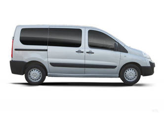 Задний салон, короткая база, правое окно на Fiat Scudo, Peugeot Expert, Citroen Jumpy 2007-