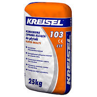 Посилена клейова суміш для плитки Kreisel 103 (25 кг)