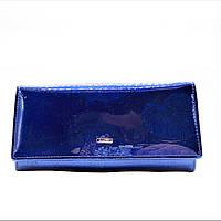 Симпатичный лаковый кошелек BАLISА синего цвета GGF-076601
