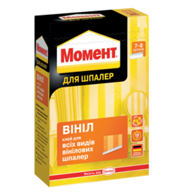 Клей для шпалер МОМЕНТ ВІНІЛ (250 г)