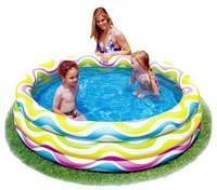 """Детский надувной бассейн """"Волночки"""" Intex 58449"""