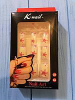 Набор накладных ногтей (12шт) Knail с клеем