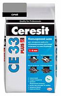 CE 33 Plus кольоровий шов сірий Ceresit (5 кг)