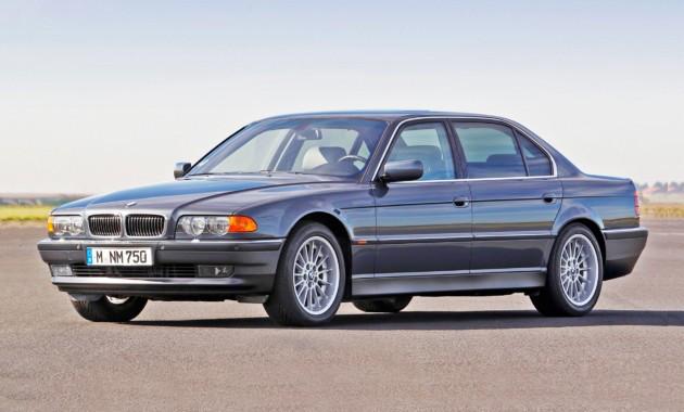 Лобовое стекло BMW 7 E38 с местом под датчик (1994-2001)