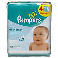 Влажные салфетки Pampers Baby Fresh 4x64 шт