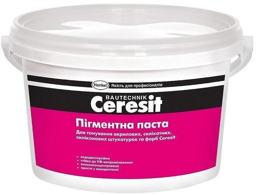 Пігментна паста жовта 04 (J1) Ceresit
