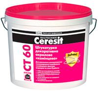 CT 60 Штукатурка декоративна акрилова (1 мм) Ceresit
