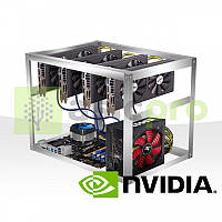 Майнинг ферма на 4 GPU Nvidia GTX 1080TI 11GB