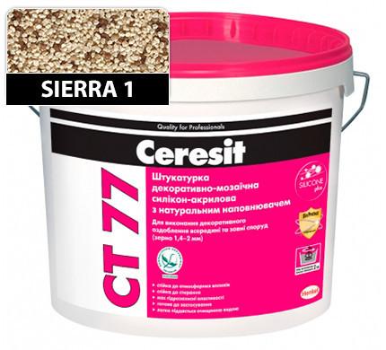 CT 77 Штукатурка декоративно-мозаїчна полімерна (1.4 - 2 мм, колір SIERRA 1) Ceresit