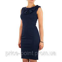 Стильное синее платье-футляр Rinascimento, р. М
