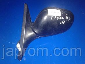 Зеркало левое Ford Probe 2 1992-1997г.в. черное с подогревом