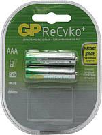 Аккумуляторна батарейка AAA (R-3) GP ReCyko 850 mAh (85AAAHCB-C2) (2шт на блистере)