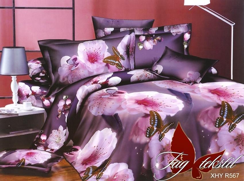 Комплект постельного белья R567 семейный (TAG(sem)-482)