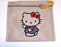 Текстильный кошелек Кити
