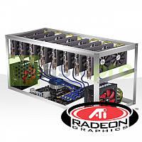 Майнинг ферма на 8 GPU RX 580 8GB