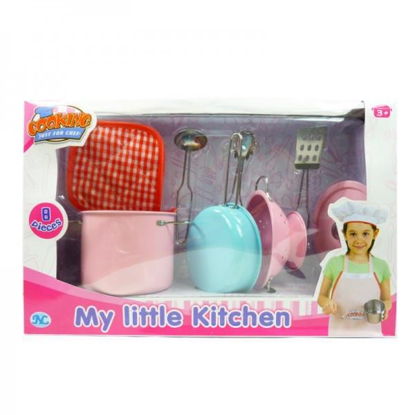 Набор посуды детский Кухонный набор 8 предметов S071В