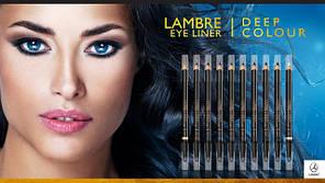 УЖЕ В ПРОДАЖЕ! Новая коллекция карандашей для глаз Lambre Eye Liner Deep Colour!