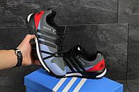 Adidas Terrex Boost серые с красным мужские кроссовки