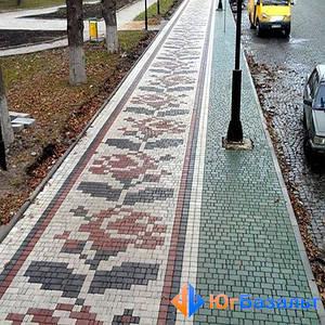 Как сделать тротуар, чтобы избежать луж  и грязи?