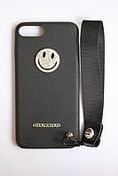 Чехол с ремешком для iPhone 7 Plus, 8 Plus / чехол со стразами на iphone 7 plus, 8 plus