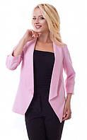 Пиджак женский 1029, (7цв), классический пиджак, приталенный пиджак