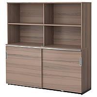 IKEA GALANT Шкаф для документов, серый  (291.849.80)