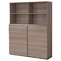 IKEA GALANT Шкаф для документов, серый  (691.845.39)