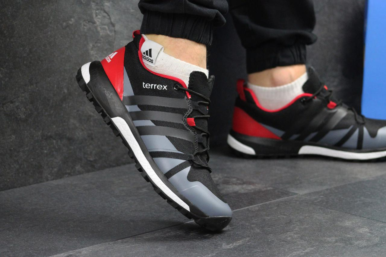 Мужские кроссовки Adidas Terrex Boost черные с красным ( Реплика ААА ... 85f6733ec7e