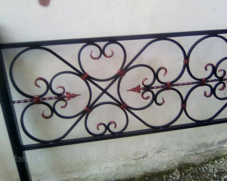 Изготовление кованных оград любой сложности  в Симферополе и Крыму