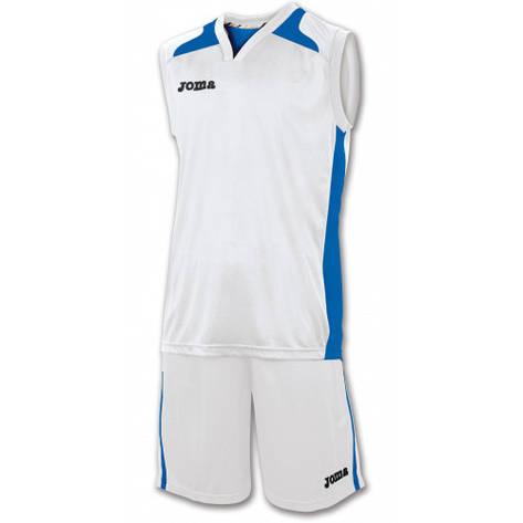 4fb76e53 Баскетбольная форма Joma CANCHA бело-синяя, 1184.12.008: продажа ...