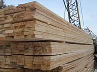 Доска обрезная свежепил сосна, 25, 30, 40, 50, 60 мм длина от 4-6 м., под заказ.