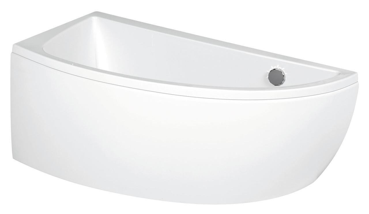 """Ванна асиметрична NANO (140x75 см) ліва з кріпленням """"Cersanit"""""""