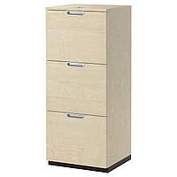 IKEA GALANT Шкаф для документов, береза okl  (003.385.58)