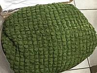 Чехол на большой угловой диван до 5,5 м+1 кресло цвет зеленый
