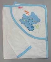 Уголок для купания полотенце 85х85 см, фото 1