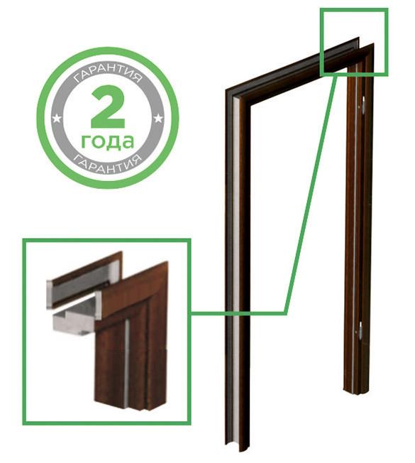 """Дверна не регульована коробка для міжкімнатних дверей Standard M80 """"VERTO"""""""