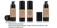 Жидкая тональная основа Shany Perfect Canvas Liquid Foundation - 30ml .оттенок LC1 (Light Cool 1)