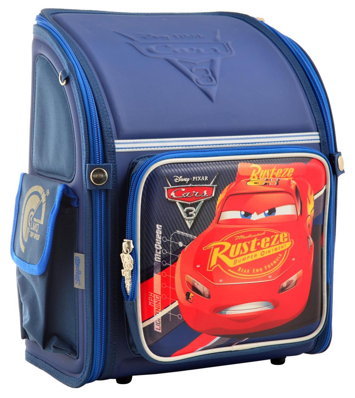 555106 Каркасный рюкзак YES H-18 Cars 35*28*14,5