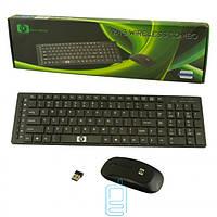 Комплект клавиатура+мышь DC-415 беспроводная черная