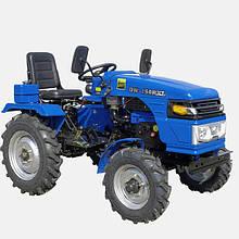 Трактор DW 150RXL(15 л.с. колеса 5,00-12/6,5-16, регулируемая колея,с гидрав.,4 датчика, блок дифференциала