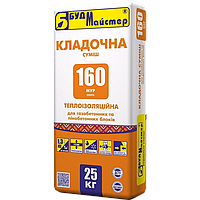 Клеюча суміш БудМайстер МУР-160 IZOFIX (25 кг)