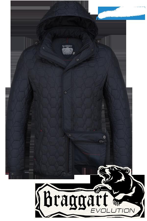 Мужская стильная осенняя куртка Braggart арт. 1250