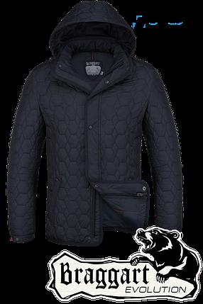 Мужская стильная осенняя куртка Braggart арт. 1250, фото 2