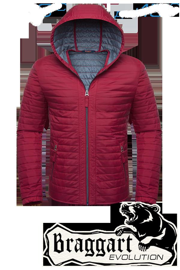 Мужская красная демисезонная куртка Braggart (р. 46-54) арт. 1295А
