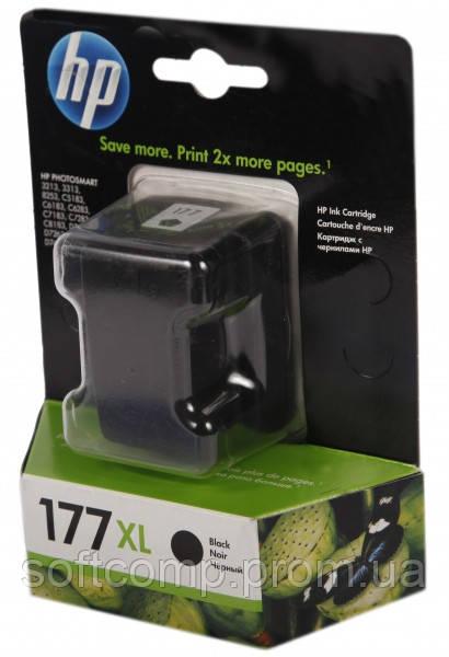 Картридж HP No.177 PS3213/3313/8253 black, 17ml