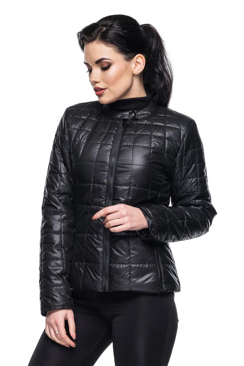 Демисезонная куртка Марта черный (42-54)