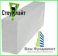 Газобетон Стоунлайт Перегородочный D400/D500 100x200x600