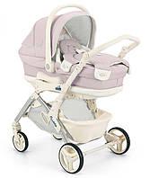 Детская универсальная коляска 2 в 1 CAM Fluido City Orso Розовый