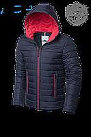 Мужская темно-синяя демисезонная куртка MOC (р. 46-56) арт. 968D