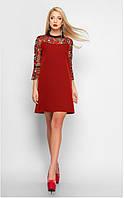 Легкое платье с вышивкой